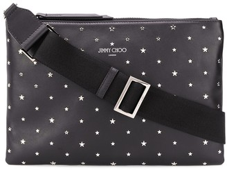 Jimmy Choo Star Stud Messenger Bag
