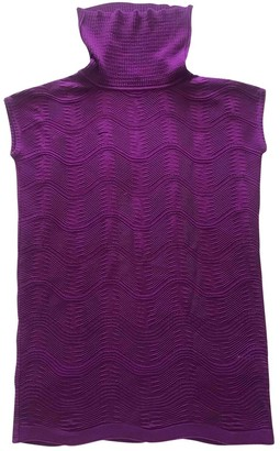 M Missoni Purple Top for Women