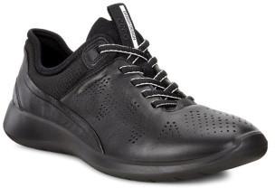 Ecco Soft 5 Black/Black-Concrete Droid/Textil