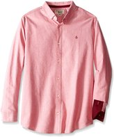 Original Penguin Men's Big-Tall Big Oxford Long-Sleeve Button-Down Shirt
