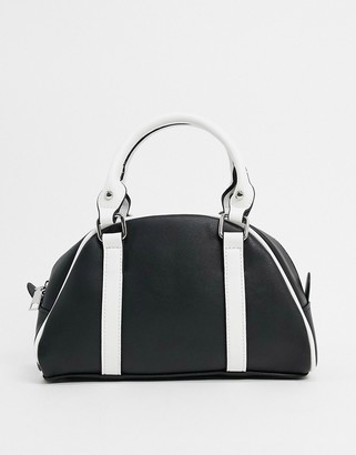 My Accessories London bowler bag in black