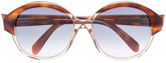 Celine Maillons Triomphe round-frame sunglasses