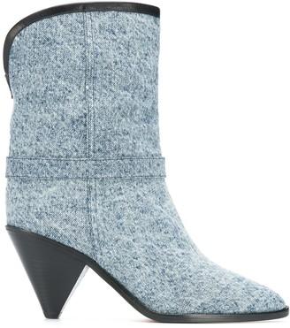 Isabel Marant Heeled Denim Boots