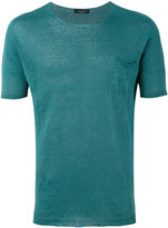 Roberto Collina knitted T-shirt - men - Linen/Flax - 48