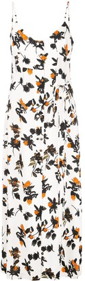 Derek Lam floating floral camisole dress