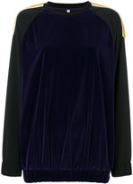 NO KA 'OI No Ka' Oi - embroidered sweatshirt - women - Polyamide/Polyester/Polyurethane/Spandex/Elastane - 1