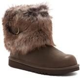 UGG Elle Genuine Sheepskin Cuff Boot (Little Kid & Big Kid)