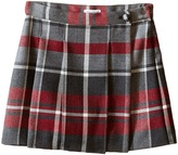 Dolce & Gabbana Back to School Quadricheck Tartan Skirt (Toddler/Little Kids)
