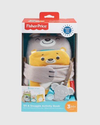 Fisher-Price Grey Soft Books - Sit & Snuggle Activity Book - Size One Size at The Iconic