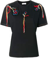 Sonia Rykiel floral embroidered T-shirt