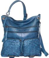 Nino Bossi Women's Snap Dragon Petal Cross Body Bag