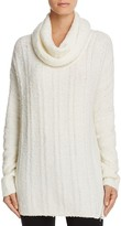 Love Scarlett Cowl Neck Ribbed Tunic Sweater - 100% Bloomingdale's Exclusive