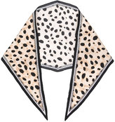 Haider Ackermann leopard print scarf