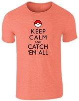 Pop Threads Keep Calm And Catch Em All S Short Sleeve T-Shirt