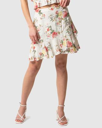 Forever New Giselle Mini Ruffle Skirt