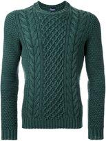 Drumohr aran sweater