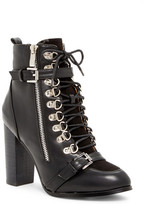 N.Y.L.A. Lace-Up Bootie
