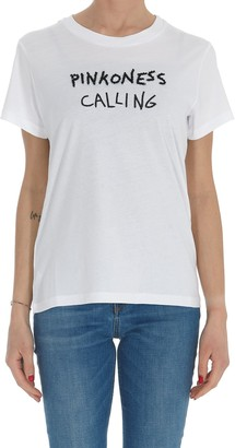 Pinko Letter Embroidered T-Shirt
