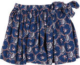 Simple Giulia Cashmere Printed Skirt