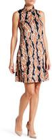 Julie Brown Sleeveless Shift Dress