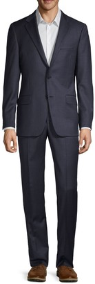 Hickey Freeman Milburn IIM Series Regular-Fit Wool Suit
