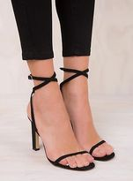 Therapy New Women's Black Suede Teesdale Heels