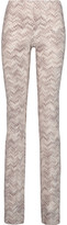 Missoni Crochet-knit flared pants