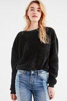 Urban Outfitters Fuzzy Crew-Neck Sweatshirt