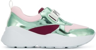 Emilio Pucci Touch Strap Logo Sneakers