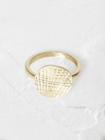 White Stuff Poetry coin ring