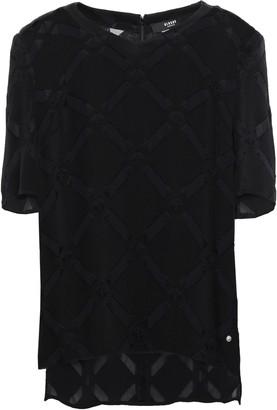 Versace Devore Knitted T-shirt
