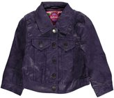 "Dollhouse Baby Girls' ""Distressed Pleather"" Jacket"