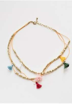 Mata Traders Capri Tassel Necklace