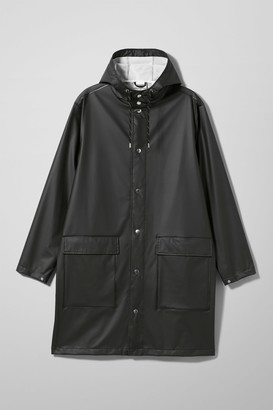 Weekday Sune Rain Coat - Black
