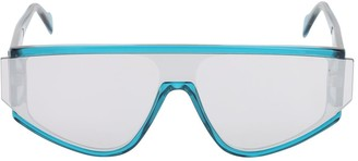 Andy Wolf Detweiler Acetate Mask Sunglasses