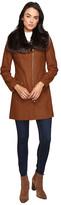 Via Spiga Asymmetrical Zip Coat