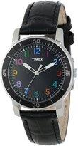 Timex Women's Kaleidoscope T2P050 Leather Analog Quartz Watch