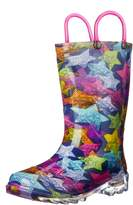 Western Chief Scribble Stars Light up Rain Boots