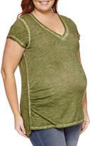 A.N.A Short Sleeve V Neck T-Shirt-Plus