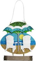 Kurt Adler Resin Beach Chairs Ornament