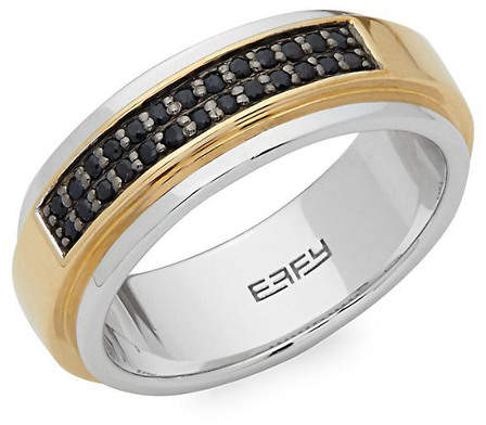 Effy Fine Jewelry Silver Sapphire Ring