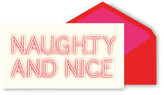 Kate Spade Naughty and Nice Holiday Cards - Set of 10