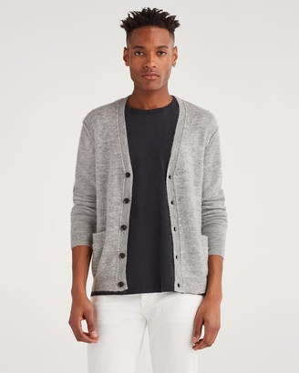 7 For All Mankind Edgecliff Cardigan in Light Heather