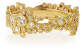 Armenta Sueño 18k Cluster Diamond Stack Ring