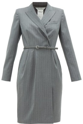 Max Mara Martin Dress - Womens - Grey White