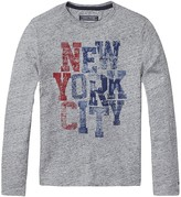 Tommy Hilfiger Th Kids Nyc Long Sleeve Tee
