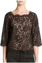 Joie Elvia Lace Top