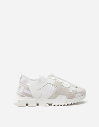 Dolce & Gabbana Mixed-Material Sorrento Trekking Sneakers
