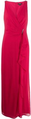 Lauren Ralph Lauren Hermina ruffle trim gown