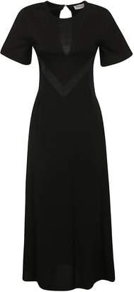 Moncler Back Keyhole Long Dress
